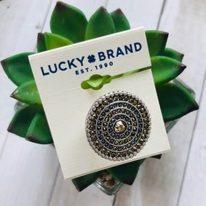 Lucky 🍀 Brand Statement Ring